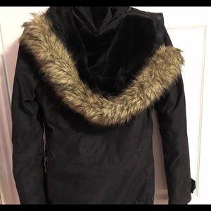 Black tna winter jacket